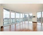 Owner must sell!  2 bed/2 bath in prime UWS new condo building.  CITY AND RIVER VIEWS!  BRING ALL OFFERS!